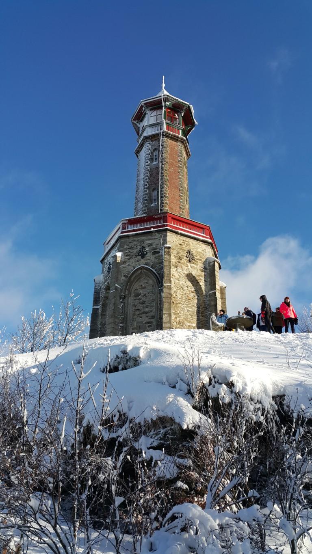 Sněžnice: výprava na Bílou skálu v Krkonoších